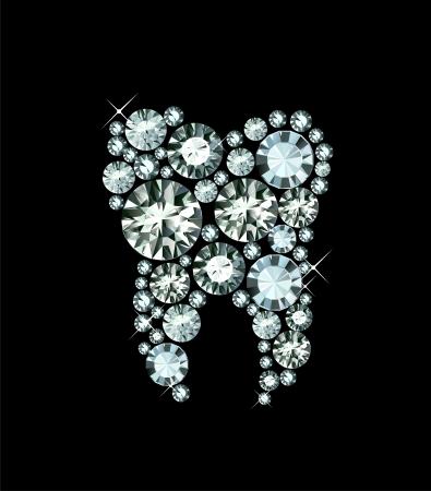 다이아몬드 치아
