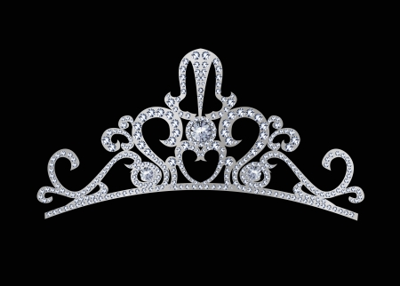 tiara decorated with jewels