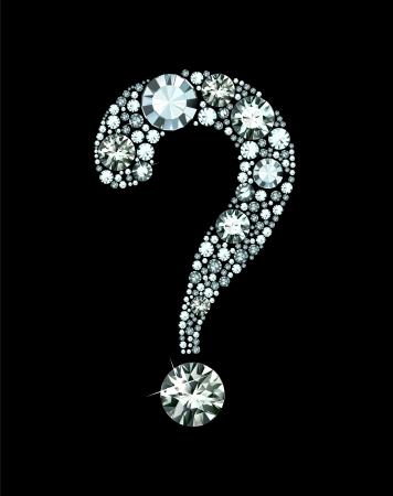 Diamond Question Mark