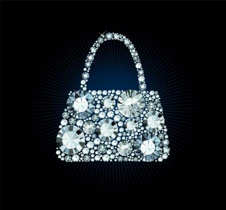 handbags: Diamond Handbag
