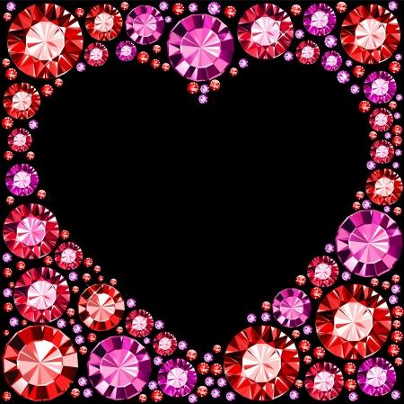 Gem Heart Frame
