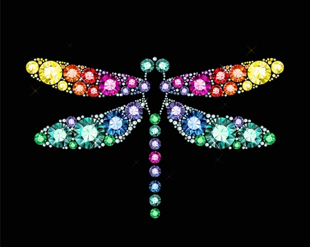 jewellery: Gem Dragonfly
