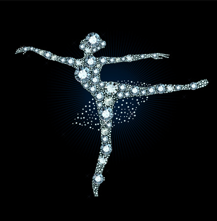 Diamond Ballet Dancer