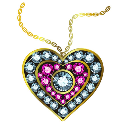 Gem Heart Pendant