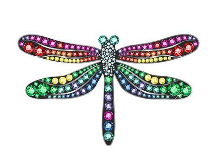 damselfly: Gem Dragonfly