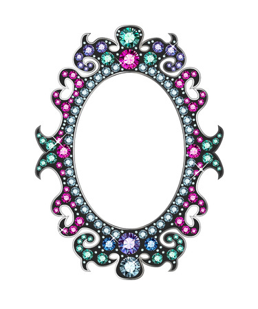 Gem Mirror Frame