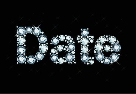 dinner date: Diamond Word Date