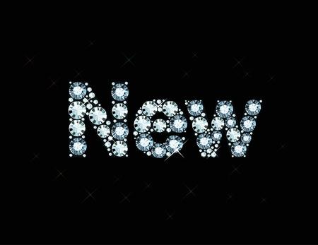 exuberance: Diamond word new