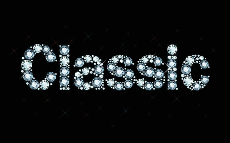 exemplary: Diamond word Classic
