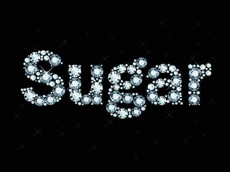 exuberance: Diamond word sugar