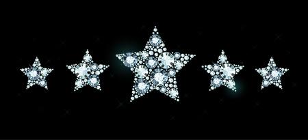 exuberance: Diamond stars