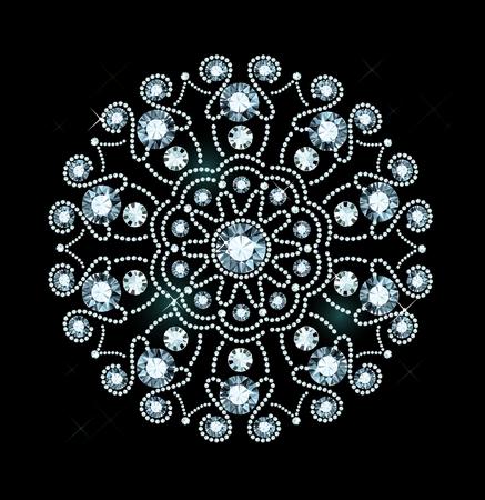 exuberance: Ornament Made Of Shiny Gems