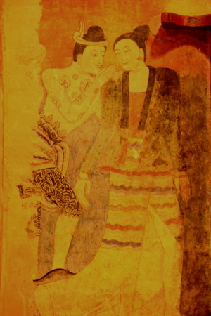 theologian: Murals of Wat Phumin last up to 418 years since 2139 (1596). Editorial