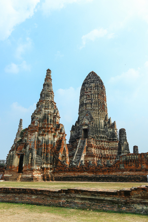 assumed: Thailand,Temple,Thailand Temple,Wat chaiwatthanaram On the river Chao Phraya is the annual Temple assumed the reign of Ayutthaya King Prasat thong, 2173.