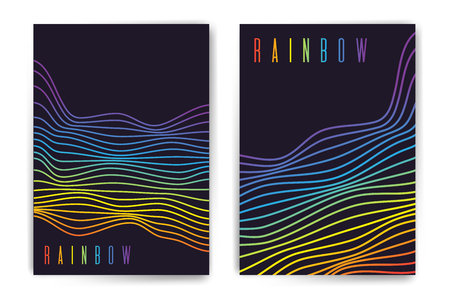 Beautiful template for brochure, flyer, presentation, poster for cover. Standard-Bild