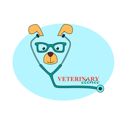 The icon of the veterinary clinic.