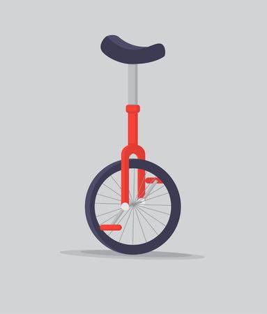 ベクトルイラスト一輪車または一輪自転車。 写真素材 - 101187792