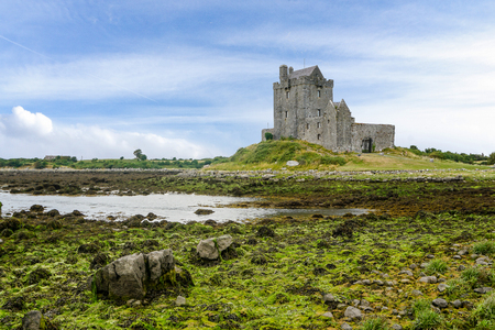 Landscape with Dunguaire Castle Ireland