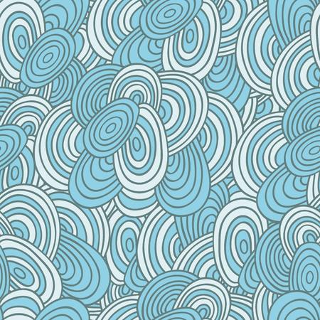 elipse: patrón abstracto sin fisuras, azul, elipse de color beige