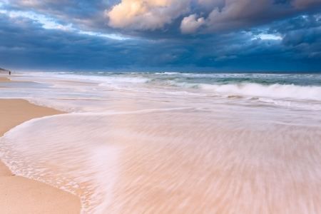 australian seascape (gold coast, queensland, australia) Stock Photo