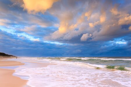 australia landscape: australian seascape (gold coast, queensland, australia) Stock Photo