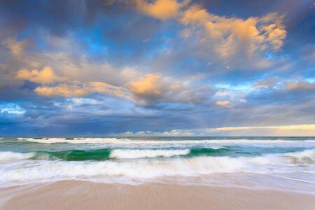 gold coast australia: australian seascape (gold coast, queensland, australia) Stock Photo