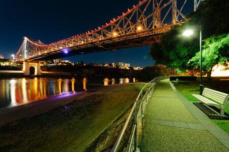 qld: Story Bridge at night (Brisbane, QLD, Australia)