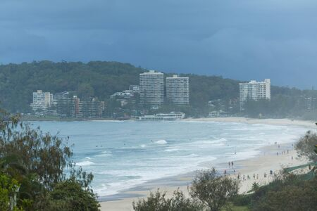 gold coast: Burleigh Heads early morning (Gold Coast, Burleigh Heads, QLD, Australia)