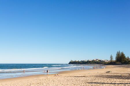 sol radiante: La entrada a la playa de Dicky (Sunshine Coast, Dicky Beach, Queensland, Australia)