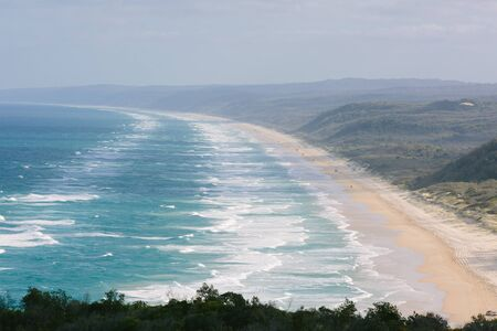 Double Island Point in Double Island Point,Cooloola National Park,QLD,Australia