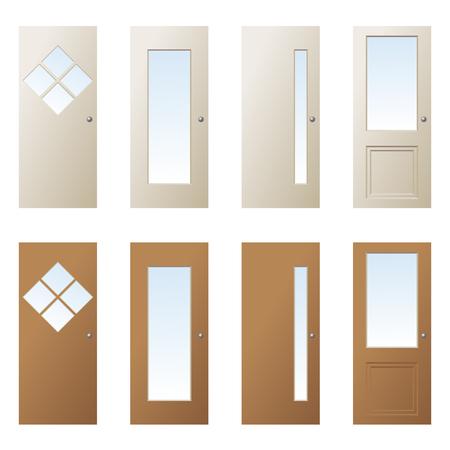 glazing: doors design 2