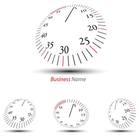 show time: logo stopwatch Illustration