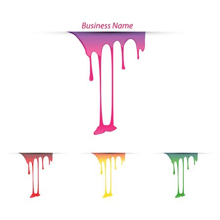 logo marketing: logo paint flows