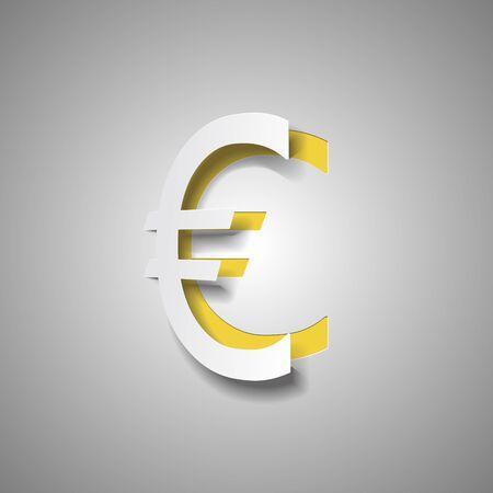 logo euro paper Ilustrace