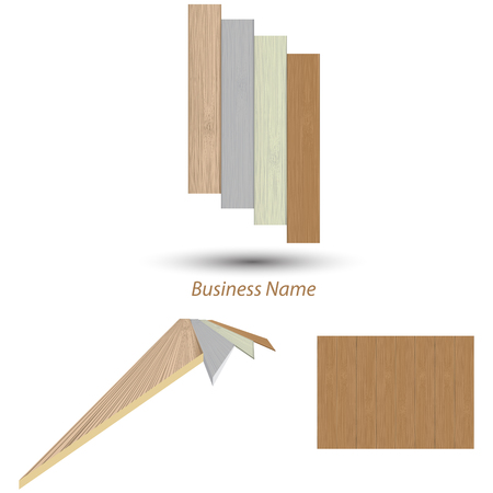 logo wood plank