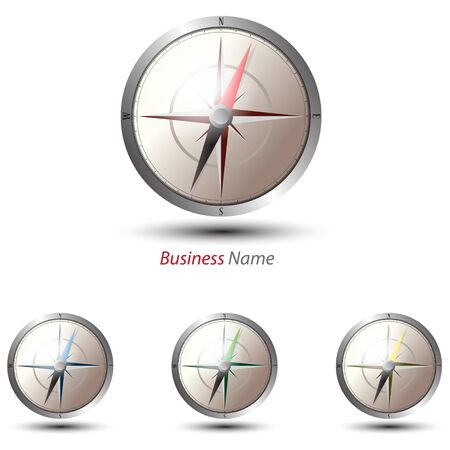 logo compass Ilustrace