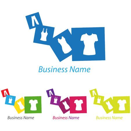 logo: logo clothes Çizim