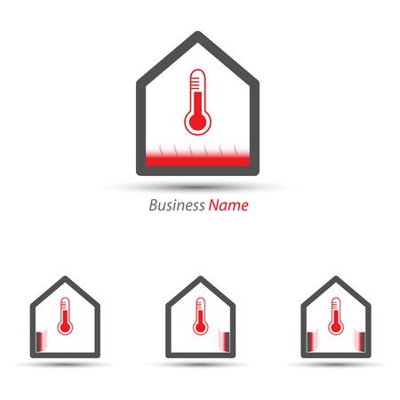 logo heating Ilustrace
