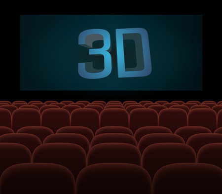 projections: hall cinema 3D