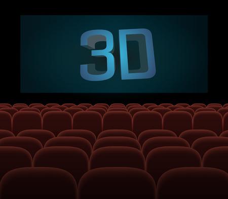 spectator: hall cinema 3D