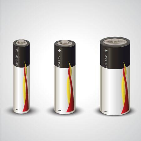battery Ilustrace