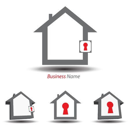 logo house security