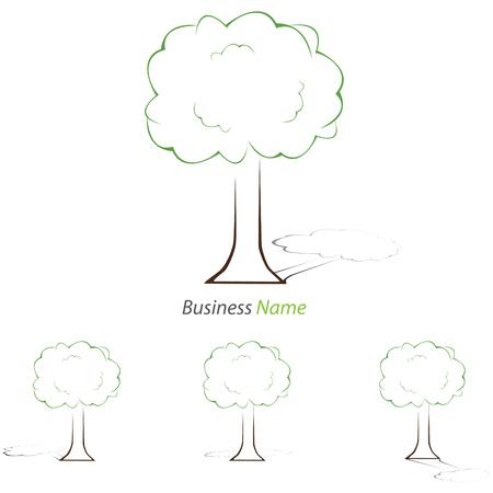 Logo one tree Ilustrace