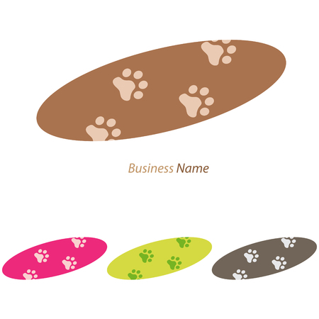voetstap: logo footstep cat
