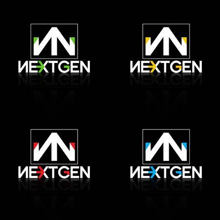 gen: logo nextgen white