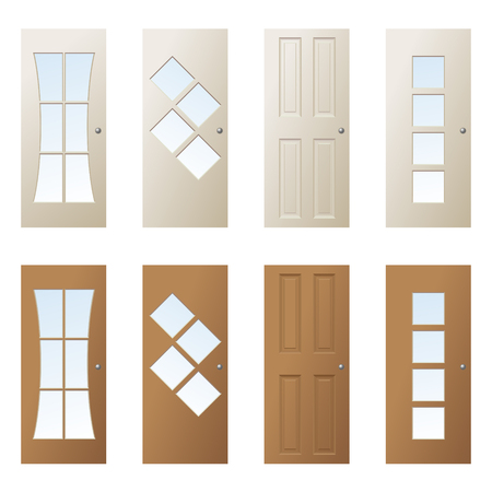 glazing: doors design 4 Illustration