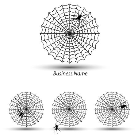 net trade: logo cobweb spider