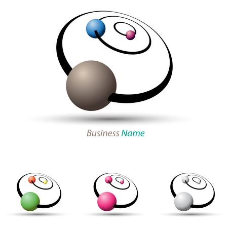 system: sistema solar logo