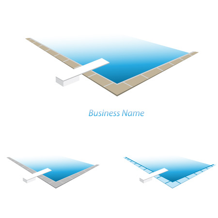 waterpolo: logo swimming pool