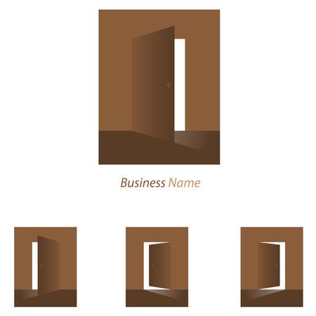 logo door open